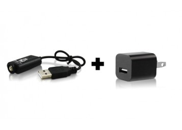 BUNDLE: USB Charger + Wall Adapter