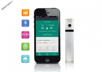 I-Vap Bluetooth E-Cig with iClear30 Tank