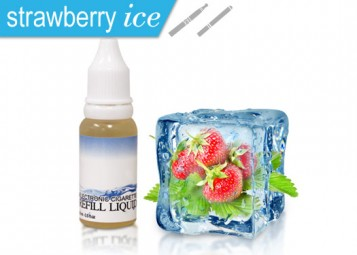 Strawberry Ice Flavored e-Juice