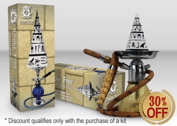 Buy ANY kit and get E-Hookah for 30% off!