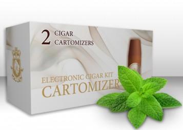 Menthol E-Cigar Cartomizers