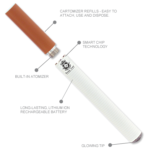 anatomy of an electronic cigarette